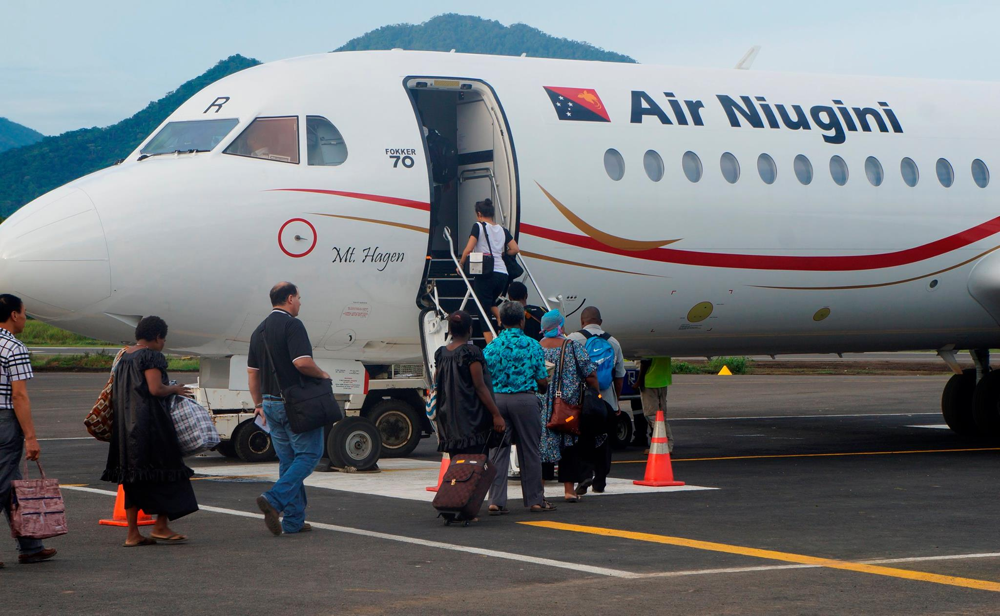 Resumption Of Air Niugini's Jet Services To Hoskins Airport
