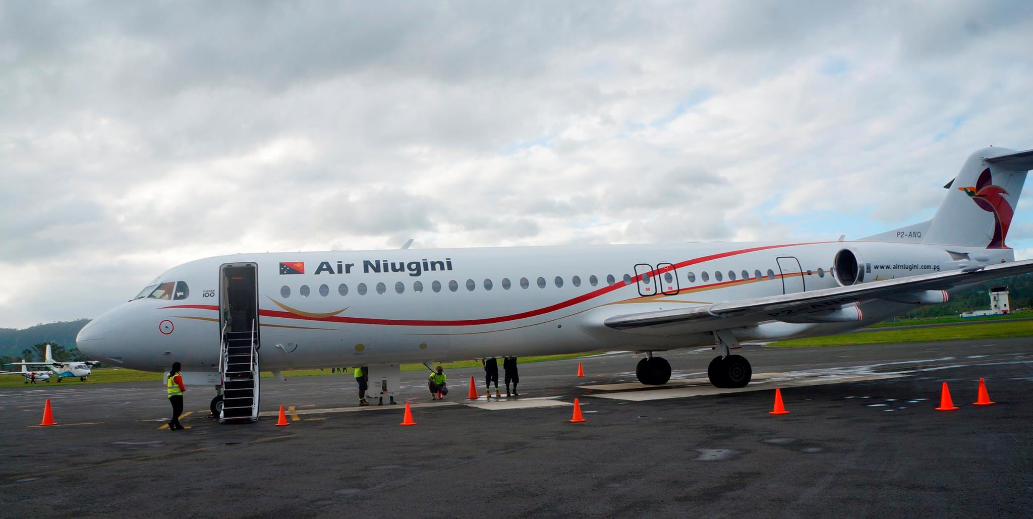 Air Niugini Operates First Commercial Service To Port Vila, Vanuatu