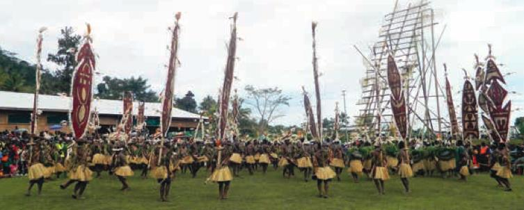 Dance Of The Kumul by Grace Maribu