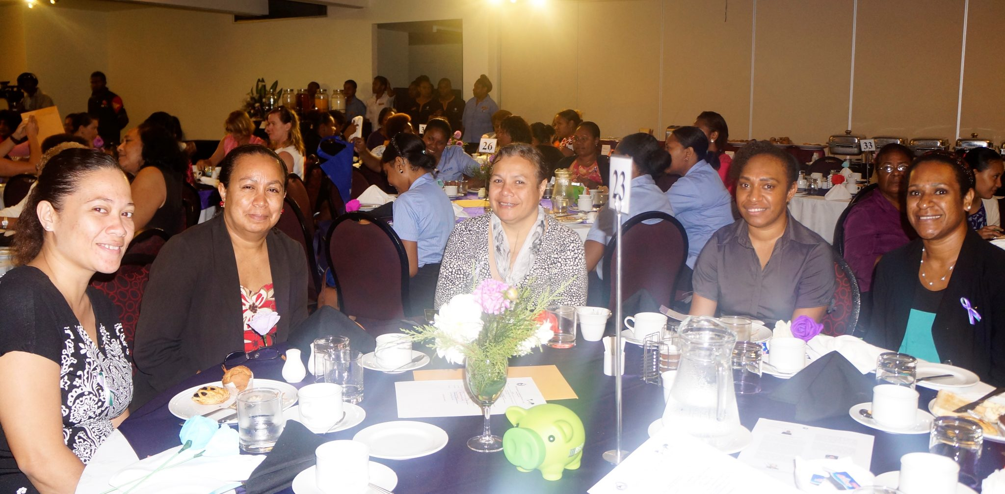 Air Niugini staff participate in International Women Day's event