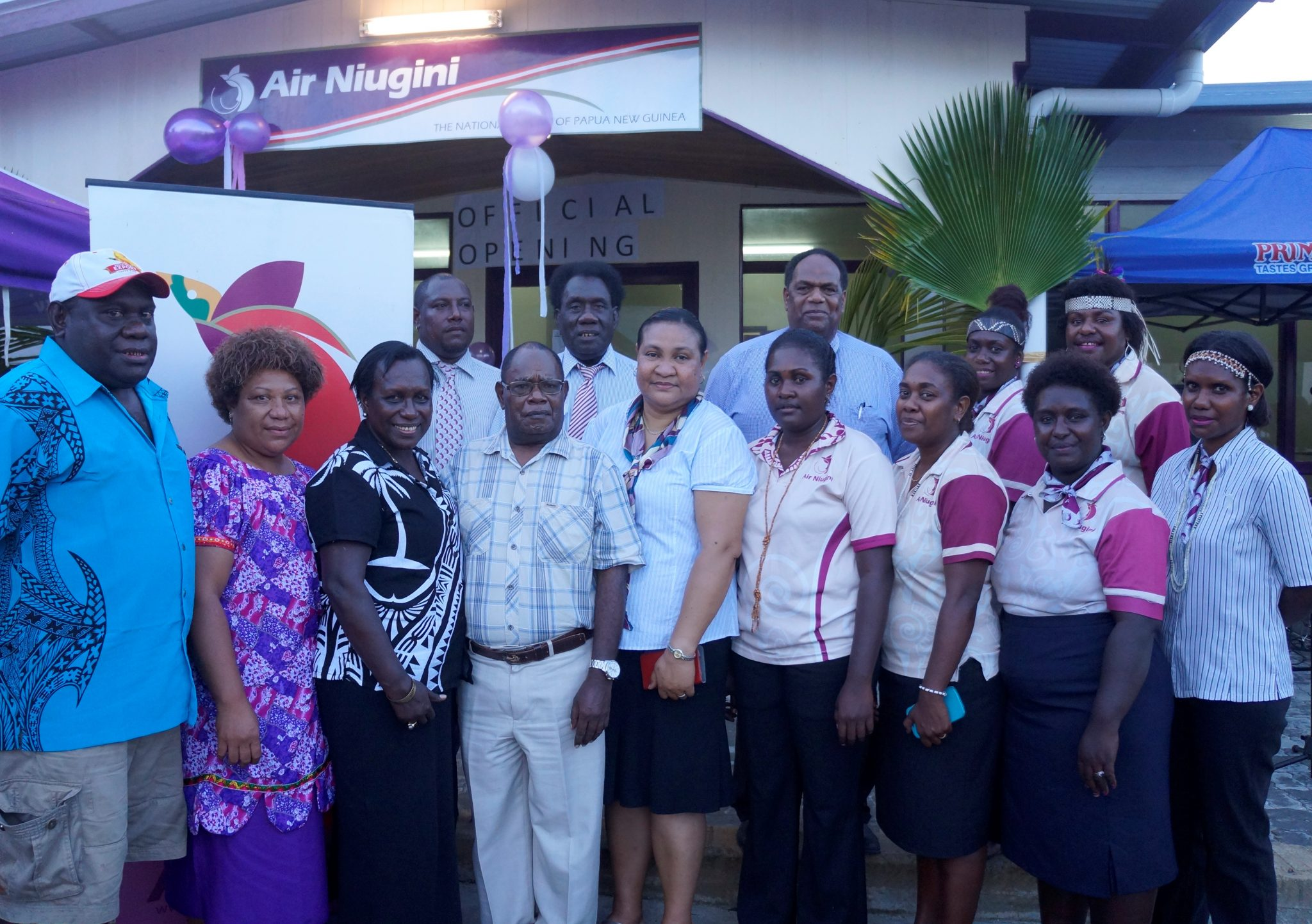 Relocation of Air Niugini Buka Office
