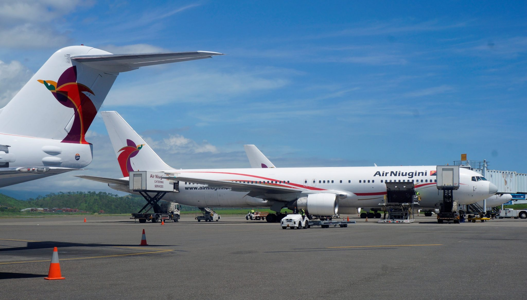 Air Niugini begins planning air services to China