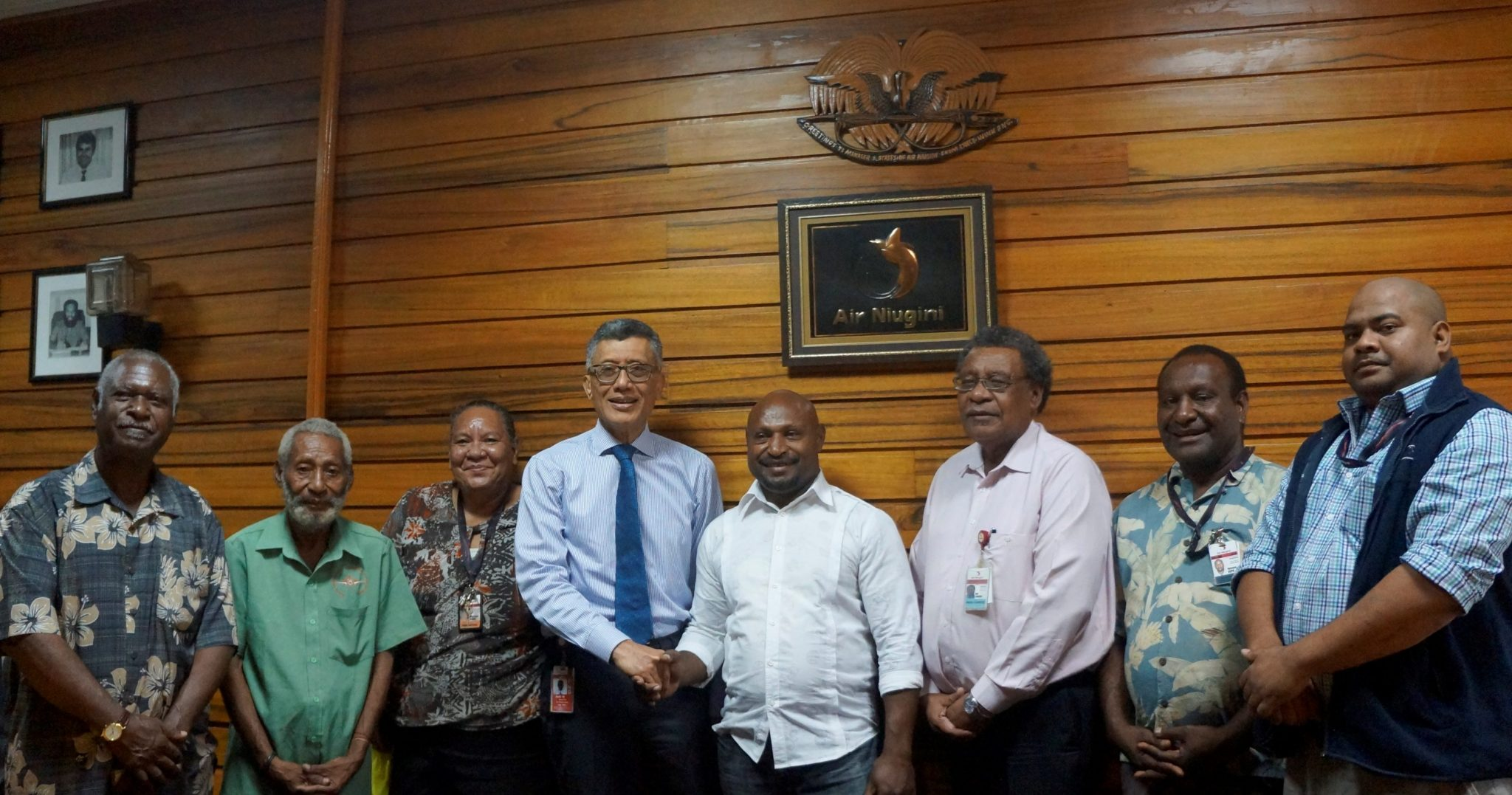 Air Niugini congratulates new NAEA Executives