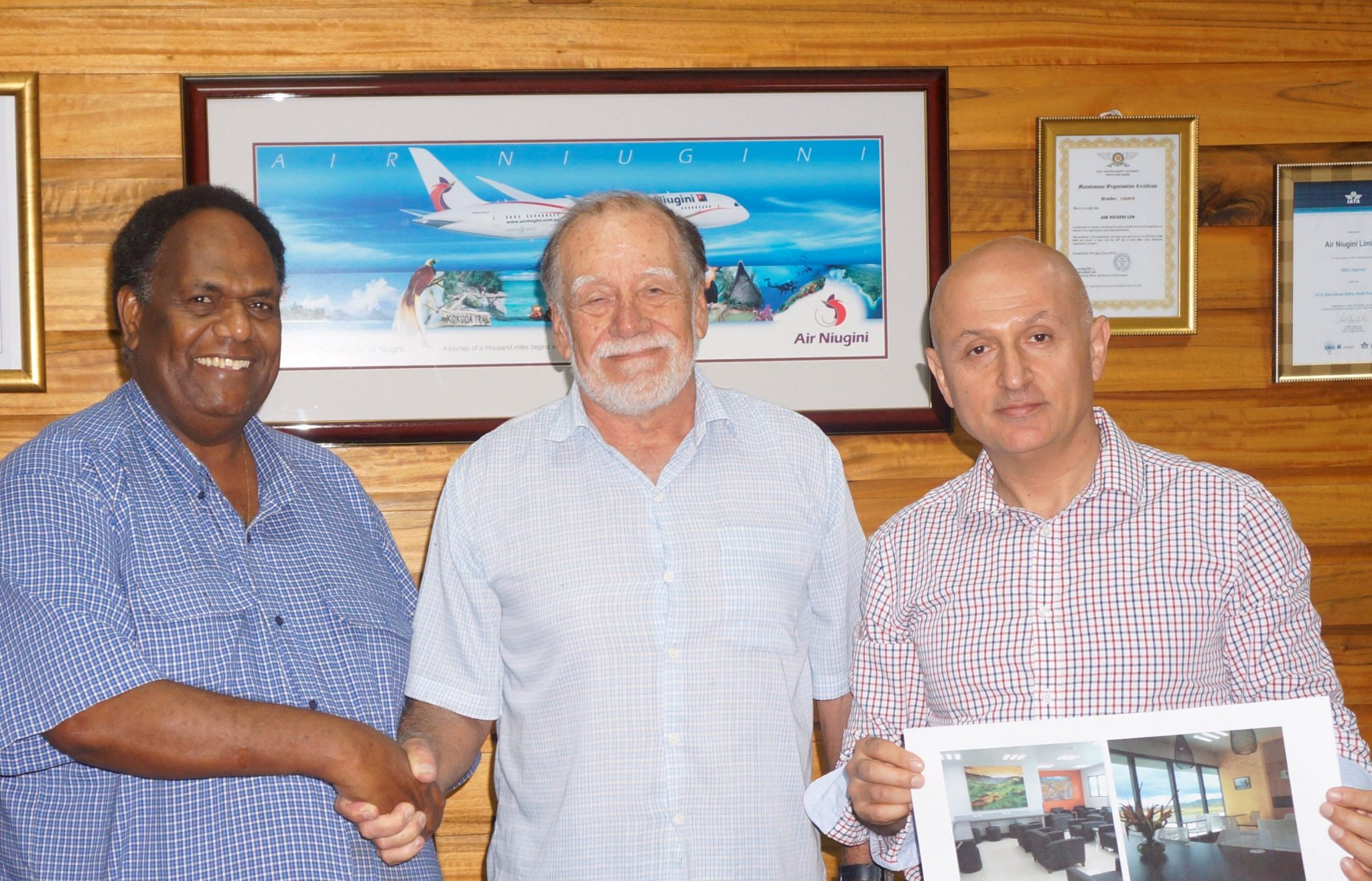 Air Niugini Paradise Lounge design wins award