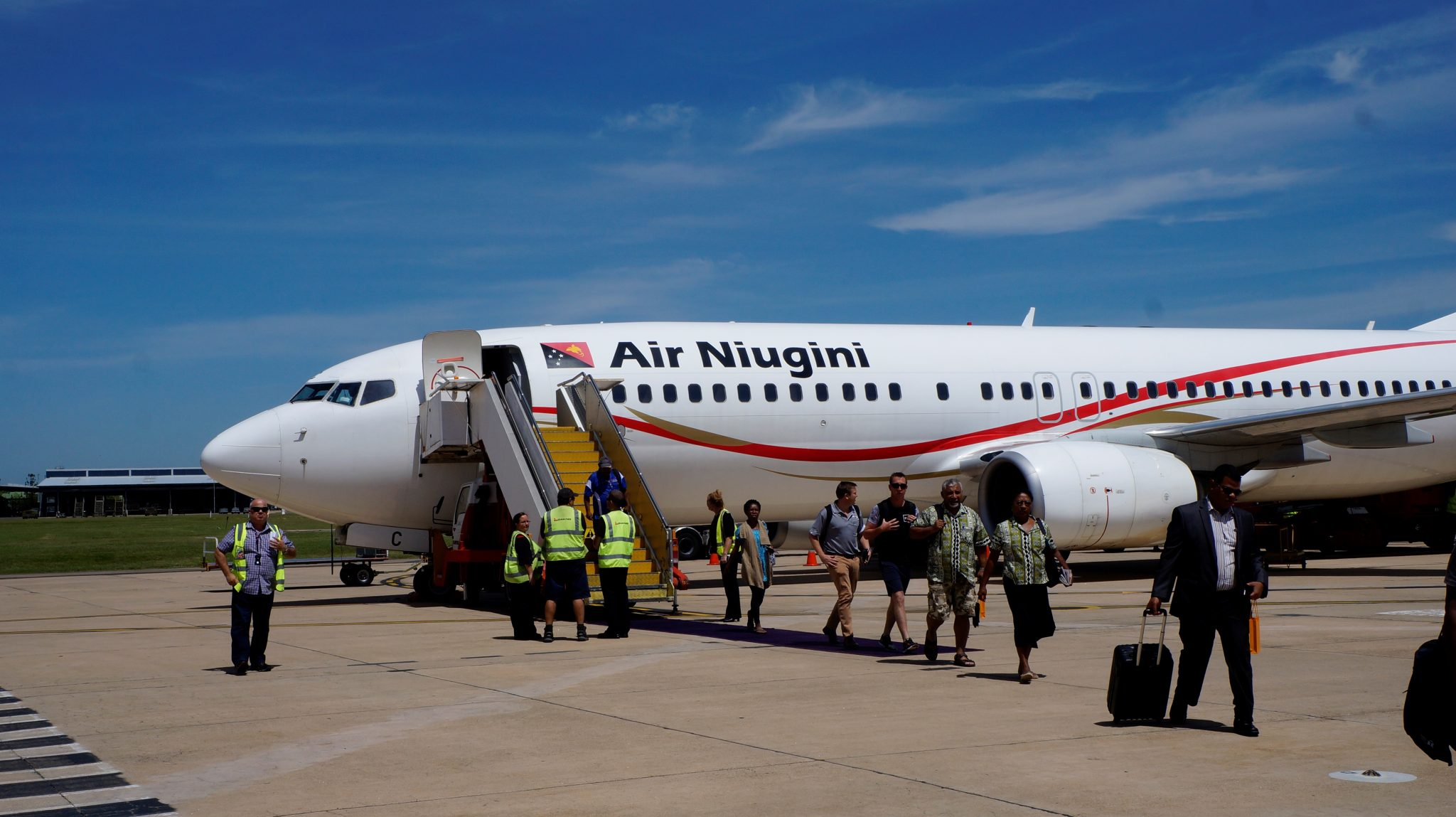 Air Niugini commence direct services to Townsville, Australia