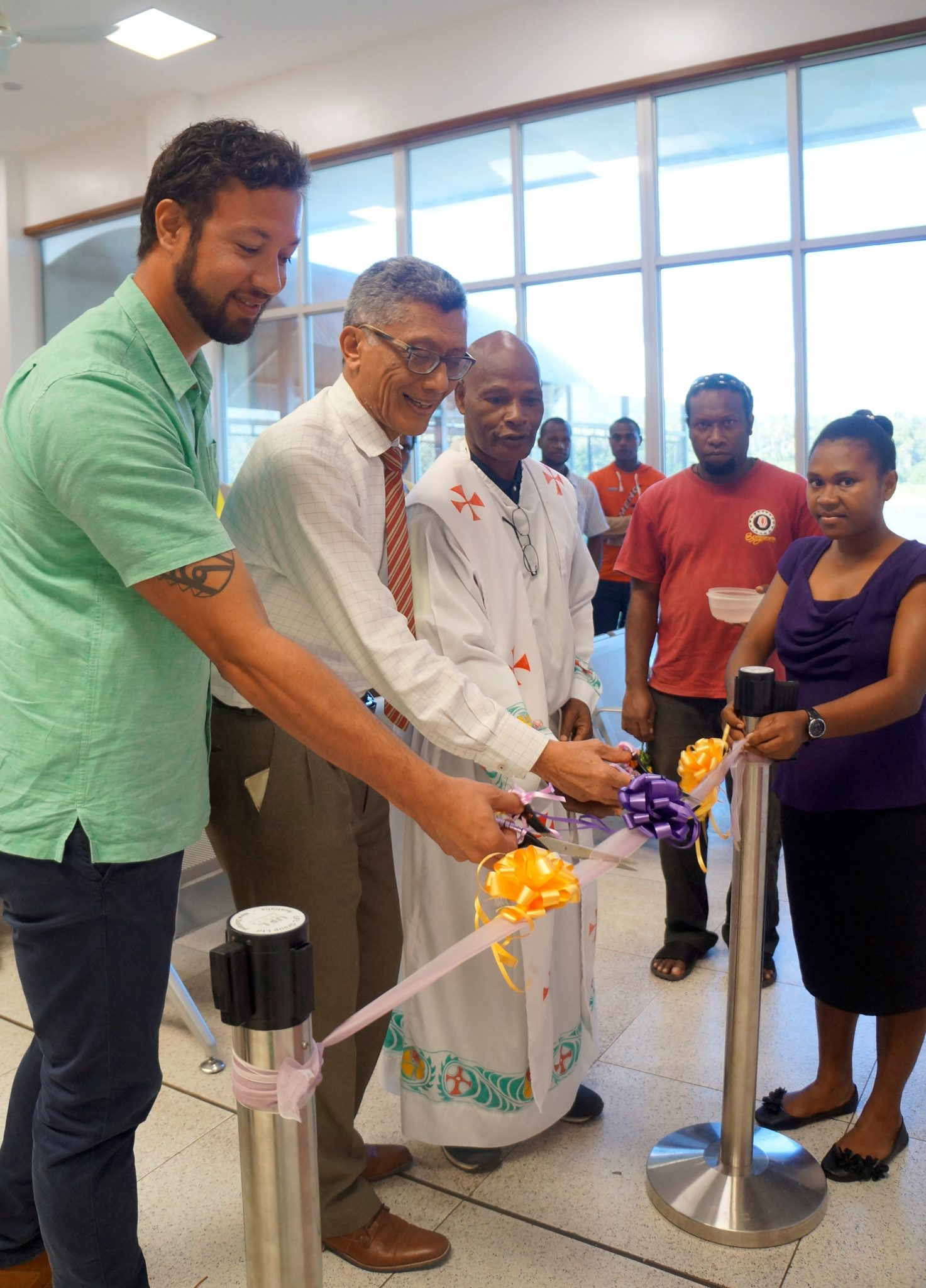 Air Niugini launches a new Paradise Lounge in Hoskins