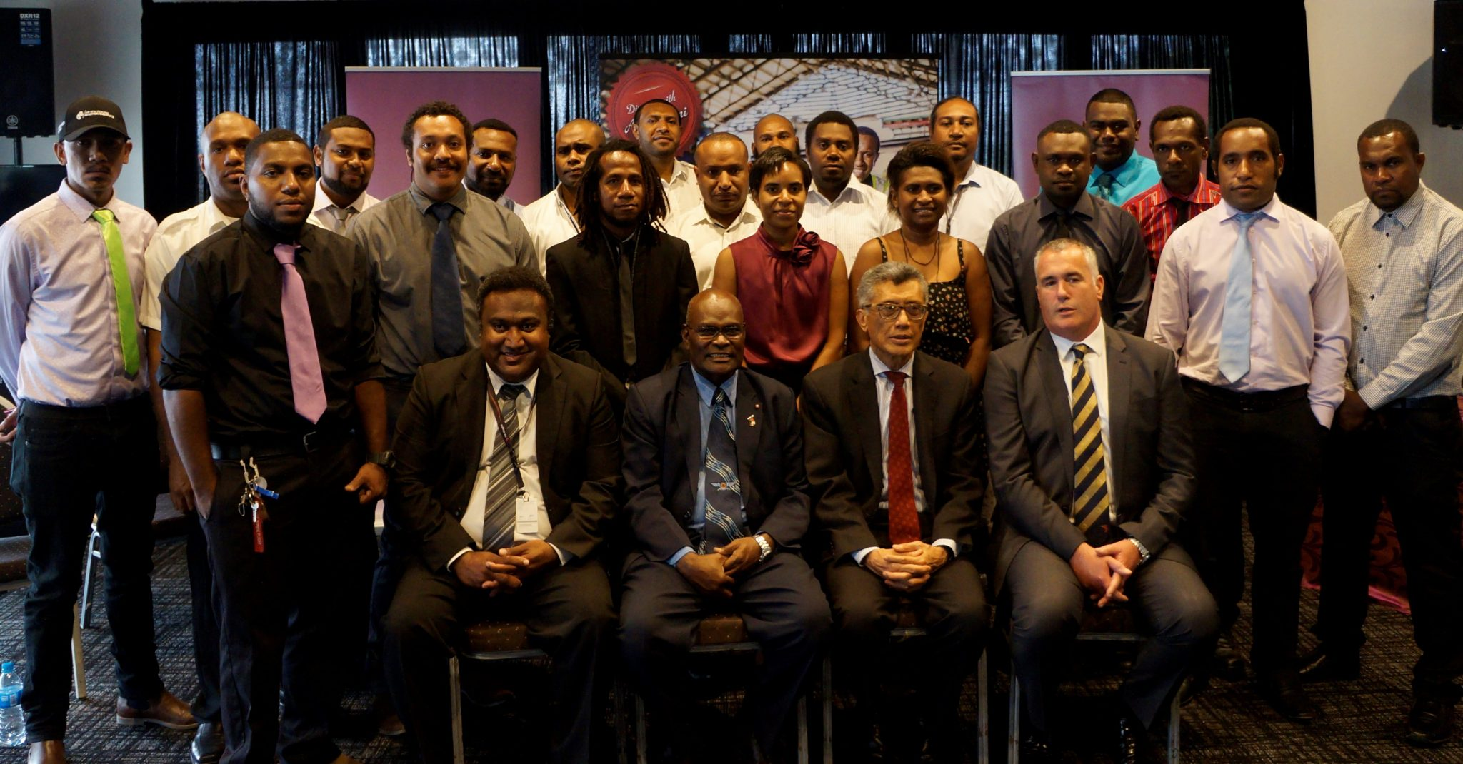 AIR NIUGINI AIRCRAFT MAINTENANCE ENGINEERS (AMEs)  RECEIVE UK EASA AME LICENSES.