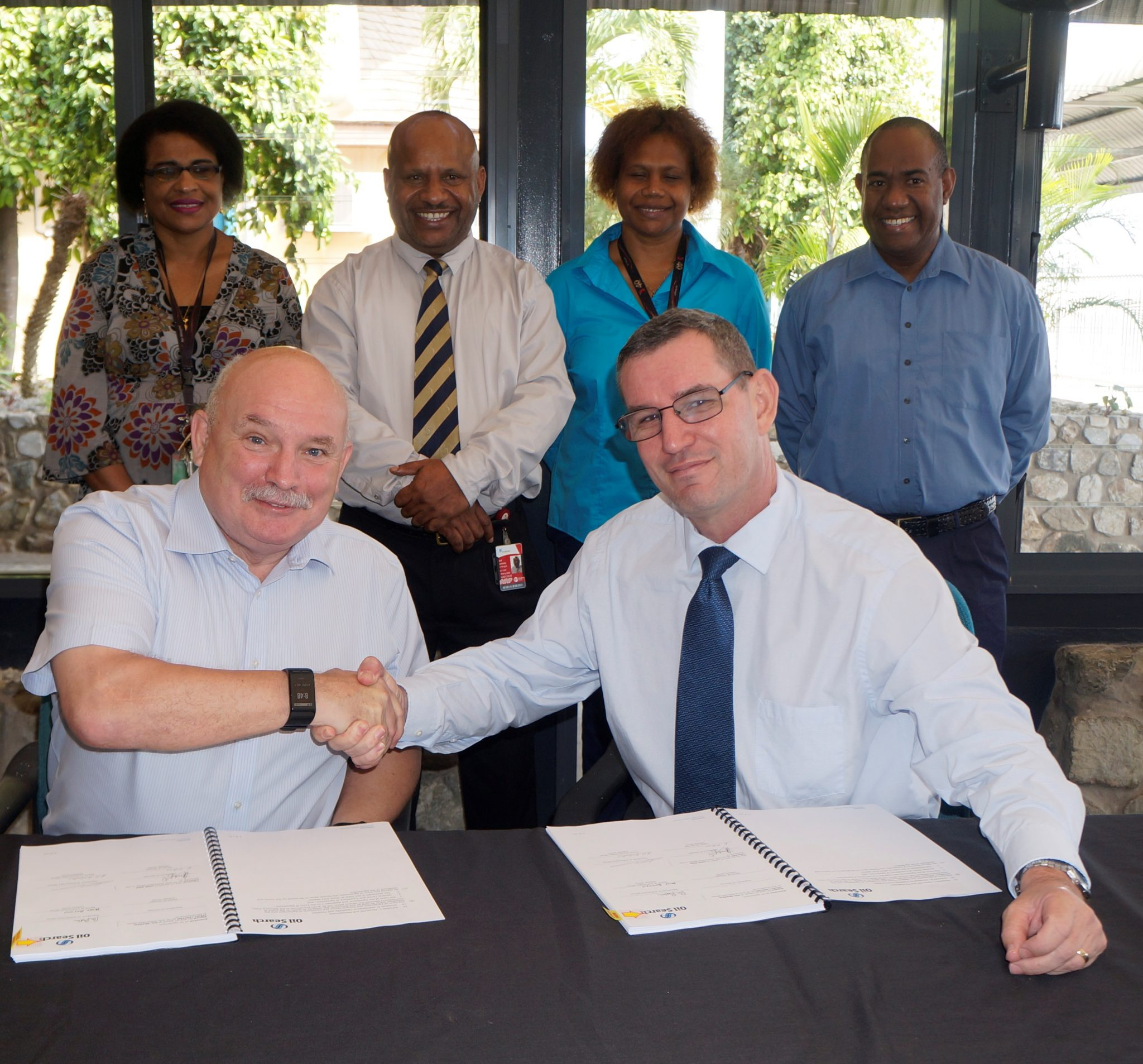 Oil Search (PNG) Limited signs contract with Link PNG