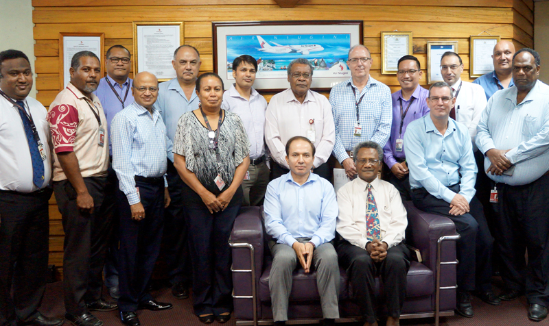 Prayer meeting to dedicate Air Niugini staff and management