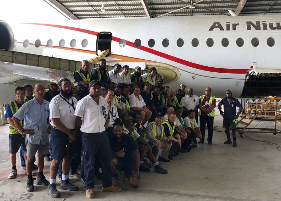 Air Niugini's Inhouse C Check Nearing Completion