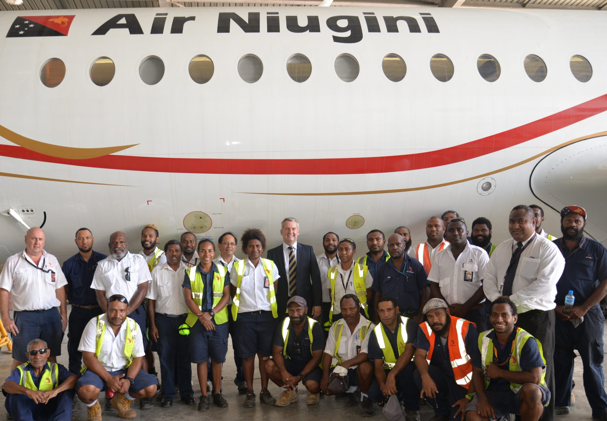Successful Completion Of Inhouse Major Check On Fokker 70